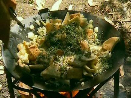 בישול גורמה בטיולי שטח (צילום: חדשות 2)