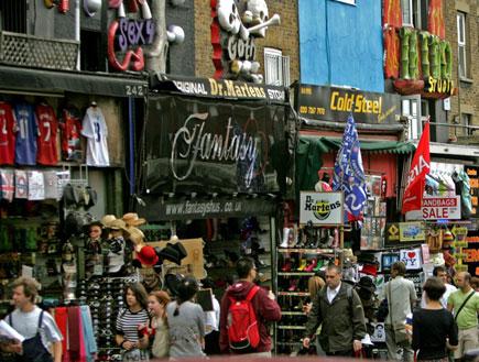 קמדן טאון בלונדון (צילום: Getty Images, GettyImages IL)