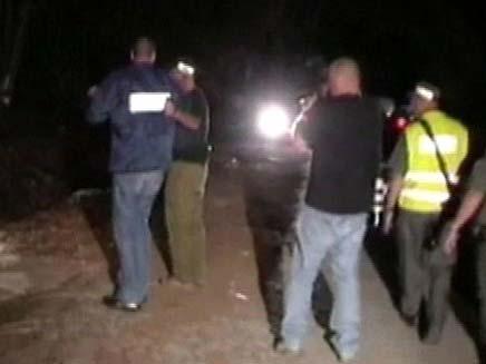 זירת הרצח בניצנים (צילום: חדשות 2)