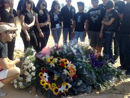 קברה הטרי של הנרצחת לאה דרנקין (צילום: חדשות 2)