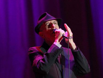 לאונרד כהן הופעה 1 (צילום: סיון פרג')