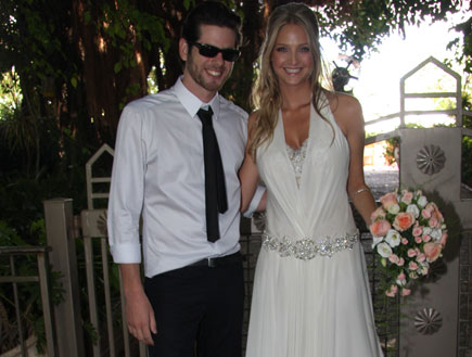 יעל דואני ועומר קליין חתונה (צילום: אלעד דיין)