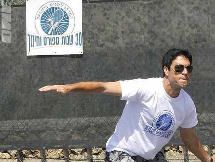 עידן טל. מצטיין גם בטניס (אמיר לוי) (צילום: מערכת ONE)