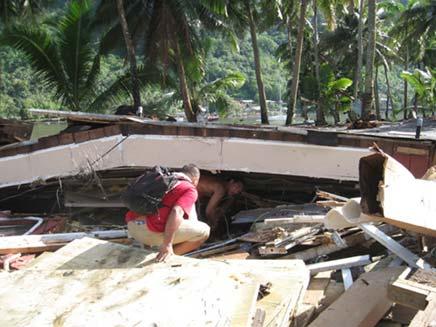 האדמה רעדה בסמואה (צילום: חדשות 2)