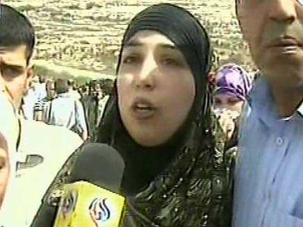 אסירה פליסטינית (צילום: חדשות 2)