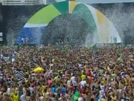 חגיגות בריו דה ז'נרו (צילום: רויטרס)