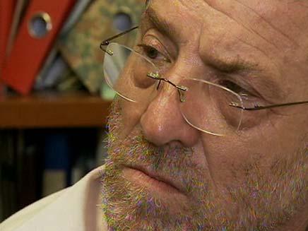 אורי אהרנפלד שבוי במחלמת יום כיפר (צילום: חדשות2)