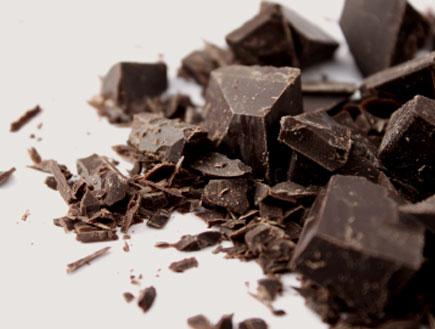 שוקולד מריר שבור (צילום: leeser87, Istock)