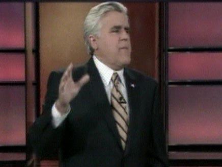 ג'יי לנו - מנחה תוכנית בידור אמריקאית (צילום: חדשות 2)