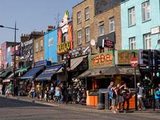 לונדון: עיירת קמדן (צילום: mako)