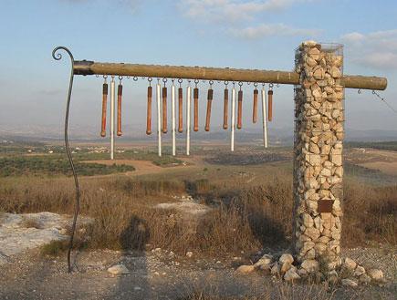 טיול בתל גזר - הבמה הגזרית (צילום: ויקיפדיה העברית)