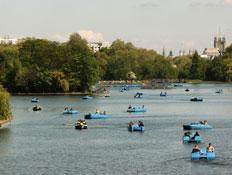 לונדון: הייד פארק (צילום: Oli Scarff, GettyImages IL)