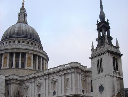 לונדון: כנסיית סיינט פול (צילום: דנה נחמד)