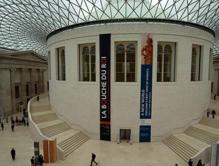 לונדון: מוזיאון בריטי (צילום: סתיו שפיר)
