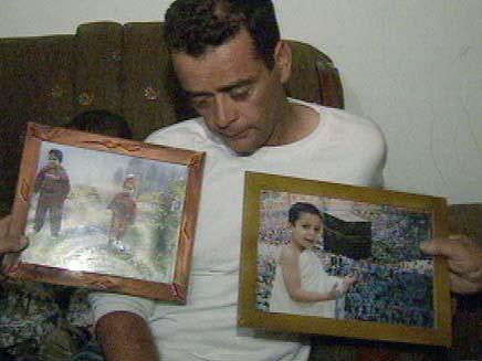 אביו של איבראהים בן ה-5, לפני שנה (צילום: חדשות 2)