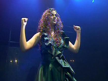 עופרה חזה- המחזמר (צילום: חדשות 2)