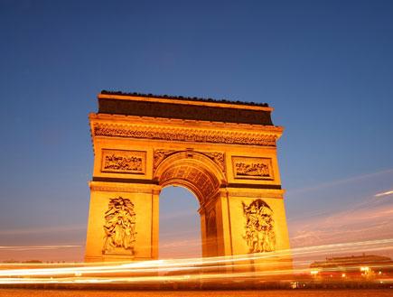 שער הנצחון בפריז (צילום: אימג'בנק/GettyImages, getty images)
