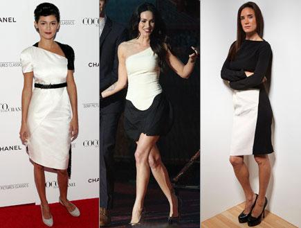 היית לובשת את הטרנד - שמלה שחור לבן (צילום: Thos Robinson, GettyImages IL)