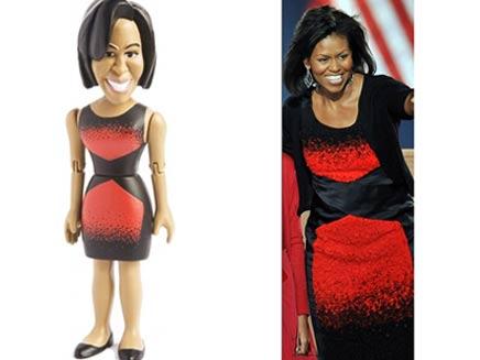 לפני ואחרי, מישל אובמה (צילום: דיילי מייל)