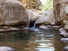 טיולים במדבר יהודה: נחל פרת (צילום: ערן גל-אור, מסלולים> להתאהב בארץ מחדש)