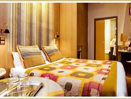 חדר במלון רג'נטס גרדן בפריז
