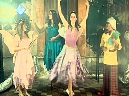 רוקדים הילדים (צילום: חדשות 2)
