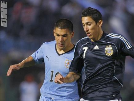 די מאריה במדי נבחרת ארגנטינה. רכש משמעותי (רויטרס) (צילום: מערכת ONE)
