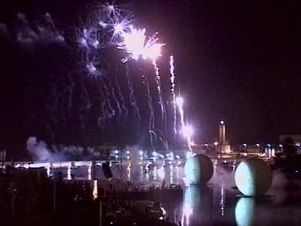 חגיגות ה100 לתל אביב (צילום: חדשות 2)