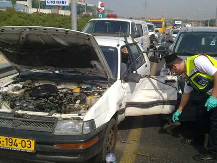 תאונה קטלנית (צילום: חדשות 2)