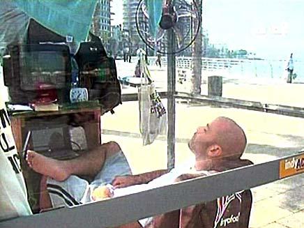 אקווריום לבנוני (צילום: חדשות 2)