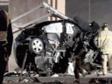 הרכב ההרוס (צילום: חדשות 2)