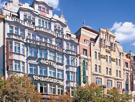 הבניין של מלון אמבסדור, פראג (צילום: האתר הרשמי)