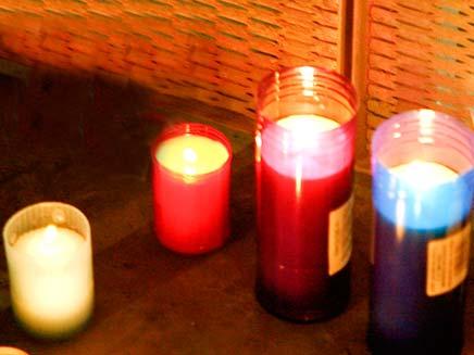 נרות ריחניים (צילום: חדשות 2)
