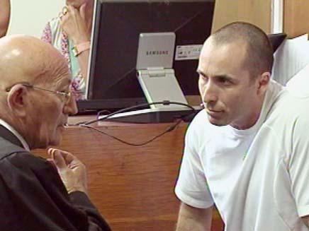 העבריין עמיר מולנר (צילום: חדשות 2)
