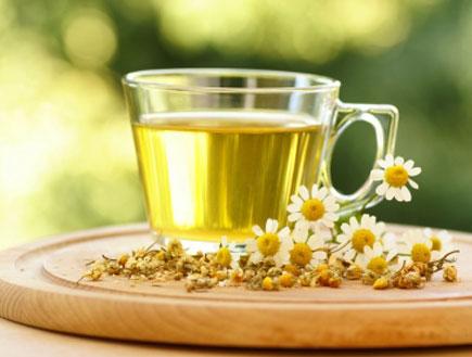 כוס תה קמומיל- פלוצים (צילום: MKucova, Istock)