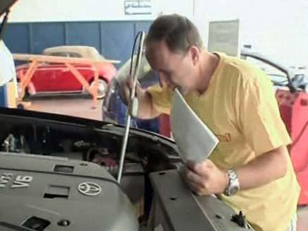 לקראת החורף: תיקונים דרושים לרכב (צילום: חדשות 2)