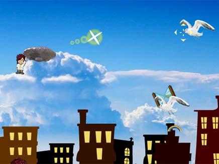 ילד הבלון משחק מחשב (צילום: צילום מסך: http://www.balloonboygame.com)