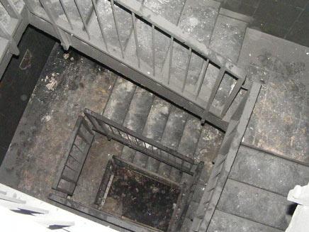 נפלה לפיר המדרגות. ארכיון (צילום: רפעת עכר)
