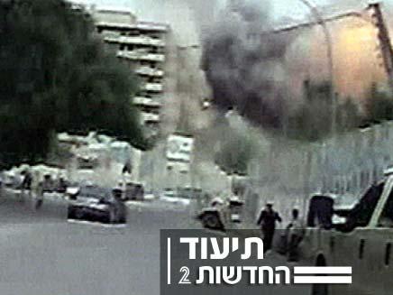 פיגוע בבגדד (צילום: חדשות 2)