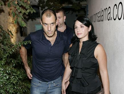 רותם אבוהב ובעלה - אירוע של המעצב טום סלמה (צילום: אלעד דיין)