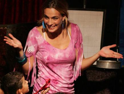 אייל גולן ואילנית לוי חוגגים יומולדת לבן ליאם (צילום: אדי ישראלי)