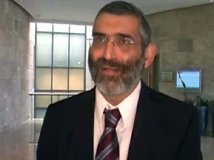 בן-ארי נגד ויינרמן (צילום: חדשות ערוץ 7)