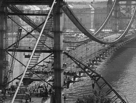 בודפשט, 1960 (צילום: Gyorgy Lajos, GettyImages IL)