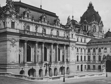 הטירה בבודפשט, 1916 (צילום: Topical Press Agency, GettyImages IL)
