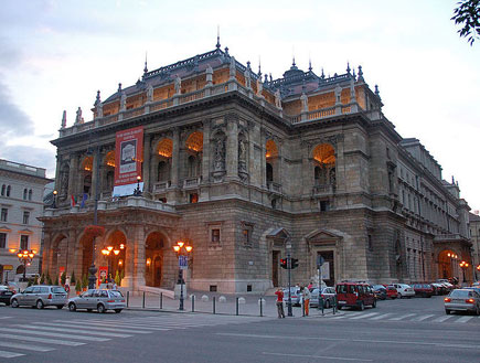בית האופרה, בודפשט