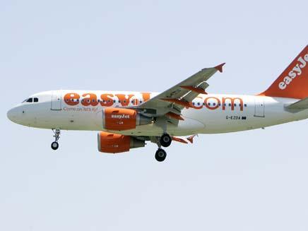 מטוס של חברת איזיג'ט, ארכיון (צילום: AP)