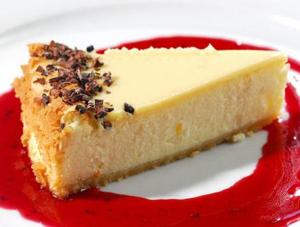 עוגת גבינה של אגאדיר (צילום: רן בירן, מסעדת אגאדיר)