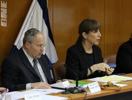 לבנת ואורלב בוועדת החינוך והספורט (גיא בן זיו) (צילום: מערכת ONE)