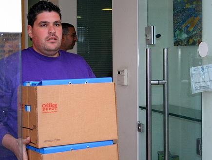 מס הכנסה במשרדי מכבי תל אביב (שרון קביליו)