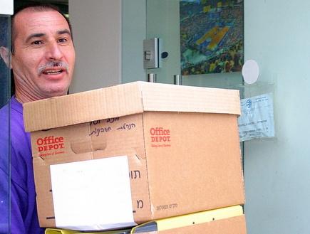 חוקרי מס הכנסה במשרדי מכבי תל אביב (שרון קביליו)